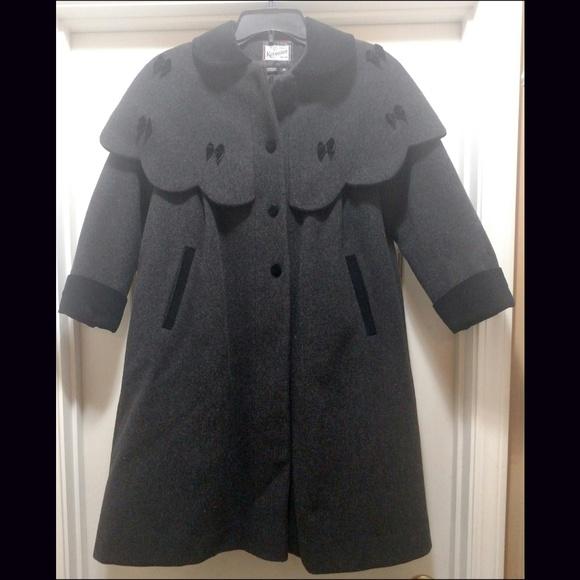 Rothschild Wool Dress Coat Girls Size 10